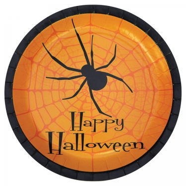9 inch Halloween Party Plates