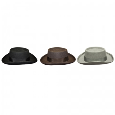 Victorian Men's Hats- Top Hats, Bowler, Gambler Planter Hat $35.99 AT vintagedancer.com