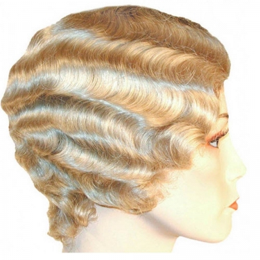Vintage Hair Accessories: Combs, Headbands, Flowers, Scarf, Wigs Short Finger Wave Wig $38.99 AT vintagedancer.com