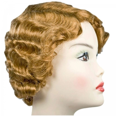 Vintage Hair Accessories: Combs, Headbands, Flowers, Scarf, Wigs Gatsby Girl Wig $32.99 AT vintagedancer.com