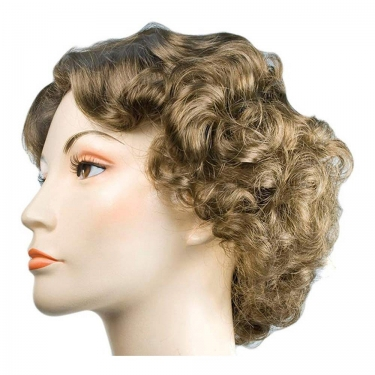 Vintage Hair Accessories: Combs, Headbands, Flowers, Scarf, Wigs Starlet Movie Star Wig $38.99 AT vintagedancer.com