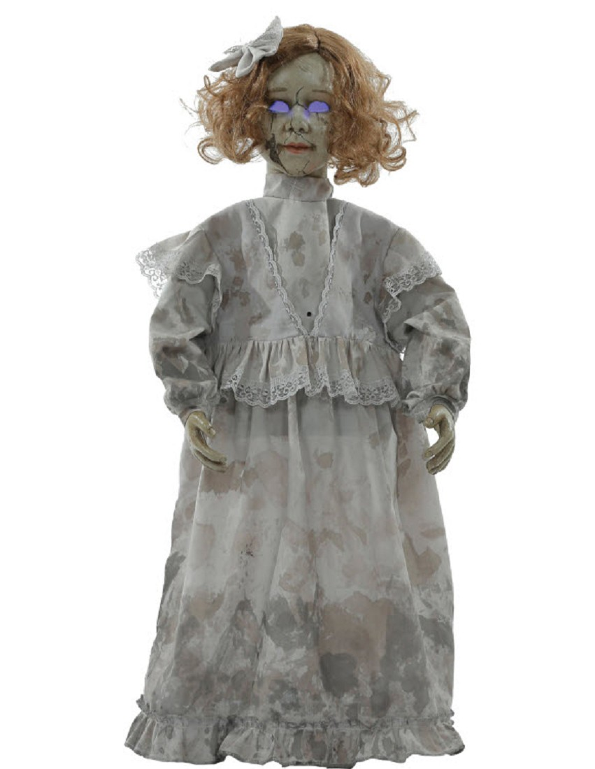 Victorian Trading Co NWD Maude Fealy Haunted Halloween Picture Animated 18A