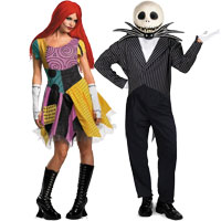 Nightmare Before Christmas Couples Costumes  sc 1 st  Halloween Costumes - Halloween Express & Couples Halloween Costume Ideas for Halloween 2017