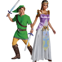 Zelda Couples Costume ...  sc 1 st  Halloween Costumes - Halloween Express : cute girl couple halloween costumes  - Germanpascual.Com