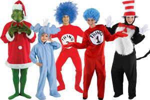 Dr. Seuss Group Costumes  sc 1 st  Halloween Costumes - Halloween Express & Group Costume Ideas for Halloween 2017
