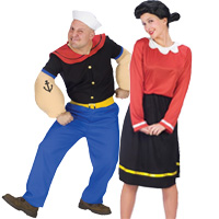 Couples halloween costume ideas for halloween 2017 popeye olive oyl couples costumes solutioingenieria Image collections