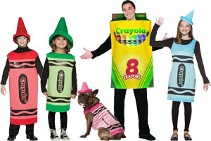 Crayola Crayons Group Costumes  sc 1 st  Halloween Costumes - Halloween Express : cheap crayon costumes  - Germanpascual.Com