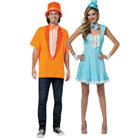 Dumb u0026 Dumber Couples Costume  sc 1 st  Halloween Costumes - Halloween Express & Couples Halloween Costume Ideas for Halloween 2017