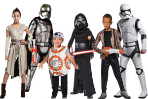 ... Star Wars VII Group Costumes  sc 1 st  Halloween Costumes - Halloween Express & Group Costume Ideas for Halloween 2017