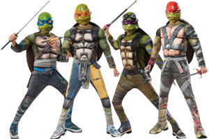 Teenage Mutant Ninja Turtles Group ...  sc 1 st  Halloween Costumes - Halloween Express & Group Costume Ideas for Halloween 2017
