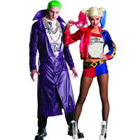 Suicide Squad Couples Costume ...  sc 1 st  Halloween Costumes - Halloween Express & Couples Halloween Costume Ideas for Halloween 2017