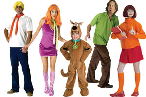 Scooby Doo Group Costumes  sc 1 st  Halloween Costumes - Halloween Express & Group Costume Ideas for Halloween 2017